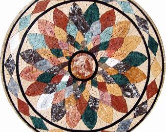 Flower Mosaic Rondure - Astrid
