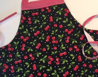 Girls apron, girls kitchen apron, girls craft apron, girls gardening apron, girls birthday gift, apron, gardening apron