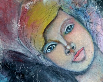 Unfinished Angel, Original 12x12