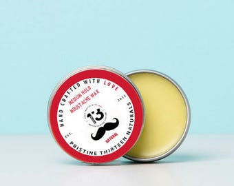 Natural(Unscented) Mustache Wax