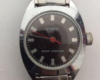 TIMEX Ladies Mechanical Wrist Watch. Vintage Wind- up Wrist Watch. Ladies Accessory