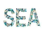 Seashell Letters SEA