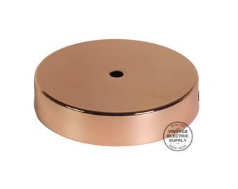 Ceiling Canopy - Polished Copper