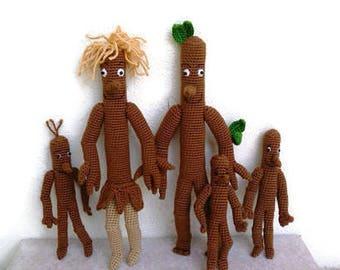 Stick Man  Family Crochet  StickMan StickLady
