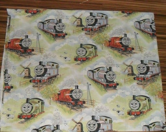 Rare Original Vintage Thomas the Tank Engine Cotton Fabric