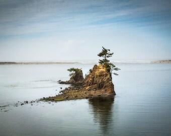 Sea Stacks, Siletz Bay, Oregon