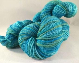 Handspun yarn - sport weight  (#633)
