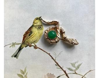 Vintage Hobé Brooch, Animal Pin, Hobe Signed Brooch, Snake Brooch, 1960s Jewellery, 60s Animal Jewellery, Collectible Hobe, Rare Snake Pin