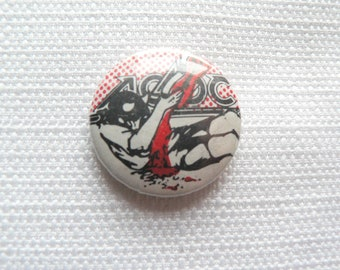 Vintage Early 80s AC/DC Pin / Button / Badge