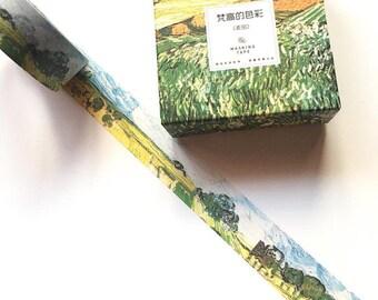 Wheat Fields washi tape