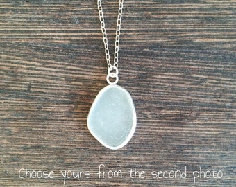 Sea glass pendant, cornish seaglass, sea glass necklace, seaglass pendant, sea glass jewelry, sea glass jewellery, seaglass necklace, beach