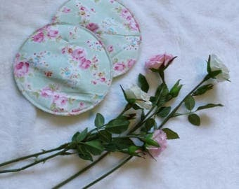 Shabby Chick Reusable and waterproof nursing pads