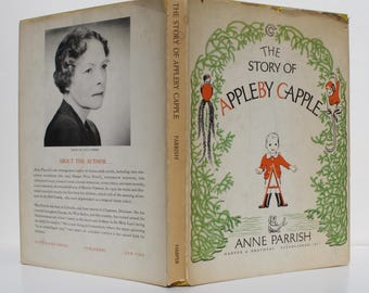 The Story of Appleby Capple by Anne Parrish - Harper & Brothers 1950 - First Edition Newbery Honor