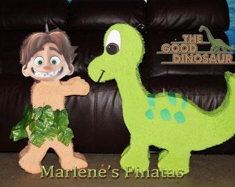 The Good Dinosaur ( spot or Arlo ) Pinatas...!