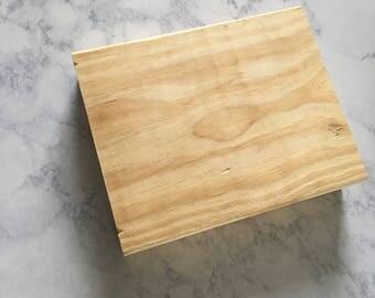 Blank Wood Block