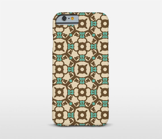 Vintage Design iPhone Cases, Google Pixel Case, HTC Phone Case, Barcelona Design, Graphic Pattern