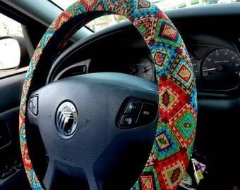 Tribal Steering Wheel Cover