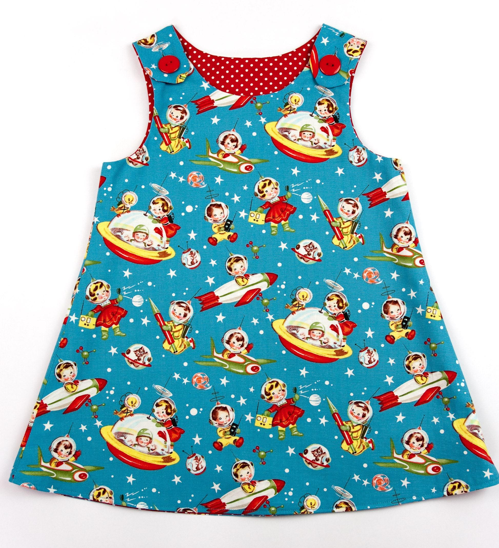 Retro pinafore dress, vintage pinafore dress, toddler dress, girls ...