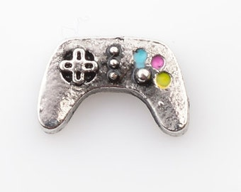 Video Game Controller Floating Charm