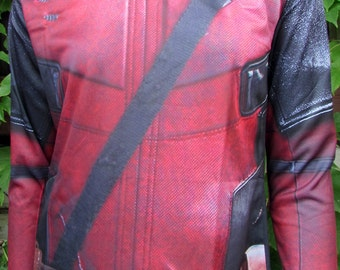 NEW! TAFI Deadpool Movie Shirt - 2017 Custom Design Affordable Wade Wilson Marvel Hero Costume CosPlay Print