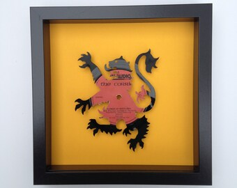 Flower of Scotland by the Corries Vinyl Record Art
