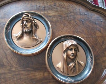 MARY and JESUS WALL Hangings