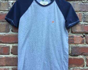 Vintage United Colours of Benetton Woman's T-Shirt in Grey