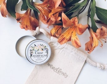 CRISP CHAMPAGNE Solid Perfume | Natural Perfume Balm