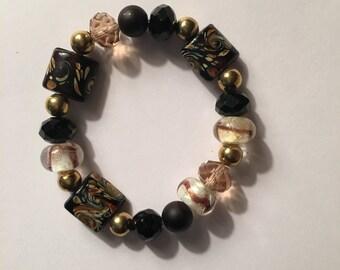 Bracelet (Black and Gold)