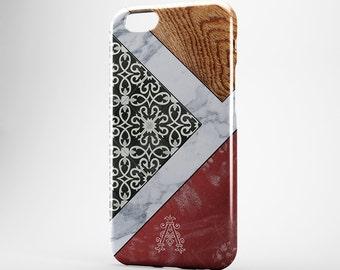 Monogram iPhone Case Marble iPhone 7 Case Morocco iPhone 7 Plus Case iPhone 6 Custom iPhone SE Case Marble Galaxy S6 S7 Monogram Xperia Z3