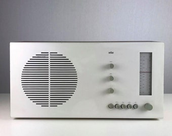 The legendary Dieter Rams RT20 radio for Braun.