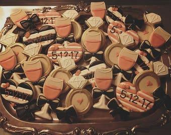 Bachelorette Party Cookies - ONE Dozen
