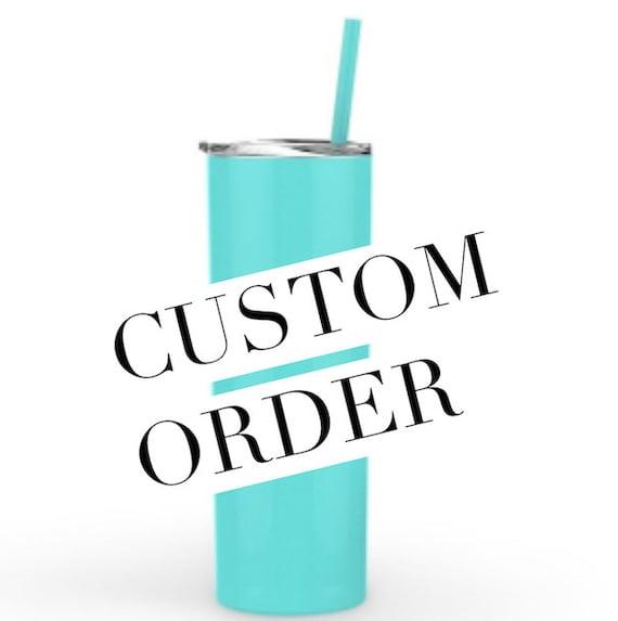 Custom Metal Tumblers