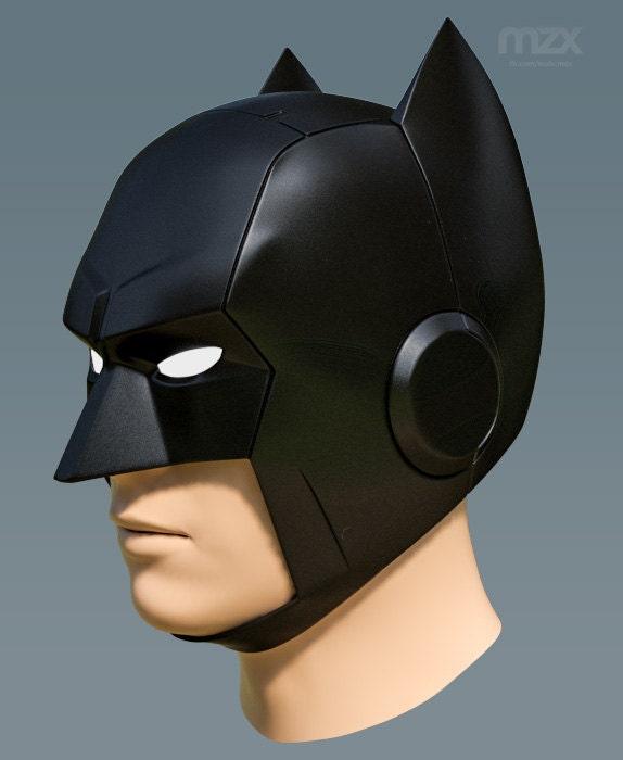 Telltale Batman Helmet Pepakura Pattern DIY
