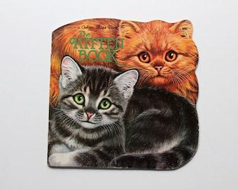 The Kitten Book Golden Shape Book 1968