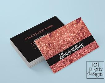 Artist business card Etsy