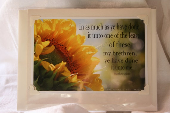 Lifeway Greeting Cards - Inspirational Card #13-INSP-1B