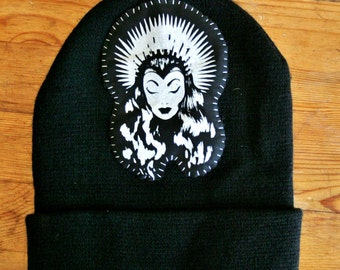 Crystal Queen Hand Stitched Patch Beanie, 2016