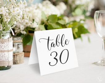 4x6 Printable Table Numbers Template Pink Amp Gold