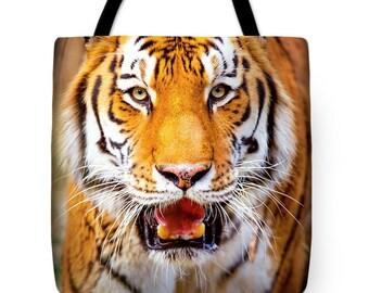 Tiger Designer Tote Bag