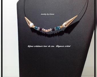 choker jewelry designers. elegant crystal