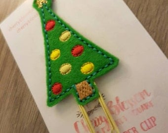 Christmas Tree Paper Clip