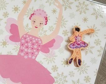 Sugar Plum Fairy Ballerina Paper Clip