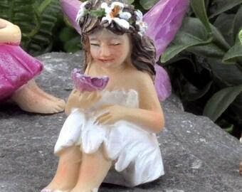 Fairy Garden  - Tiny Fairy Mari - Miniature