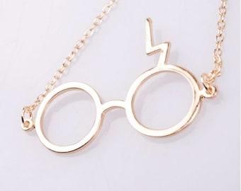 Harry Potter inspired necklace - lightning scar