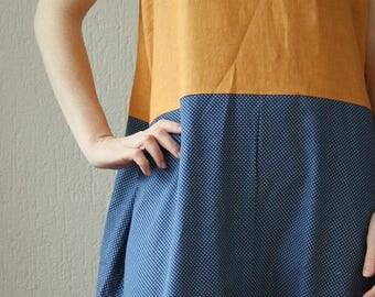 Suit mod. Licorice-Orange-