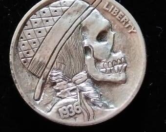 Traditional hobo nickel