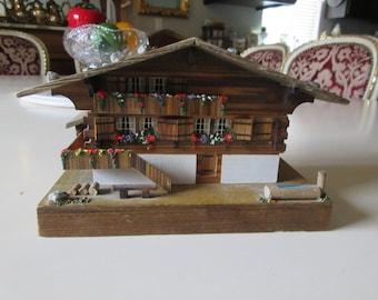 SWITZERLAND MUSIC BOX