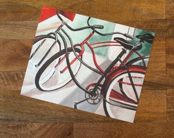 Vintage Bicycles Print | Multiplicity Series