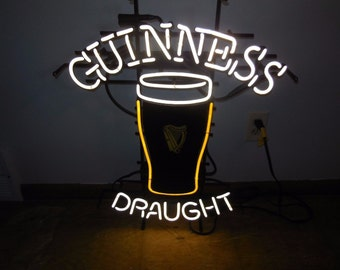Guinness Draught Pint Neon Sign